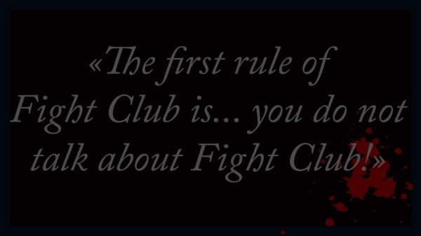 essay fight club creator chuck palahniuk spoils fans new  1st rule of fight club