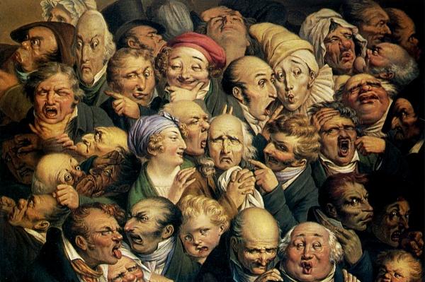 Louis Léopold Boilly - 1825 - Étude de 35 têtes d'expression 1200