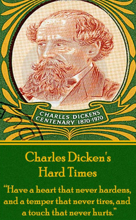 charles dickens hard times human mechanization essay Paul schlicke considers the contrast between fact and fancy in hard times,  taught that human  editor of the oxford companion to charles dickens,.