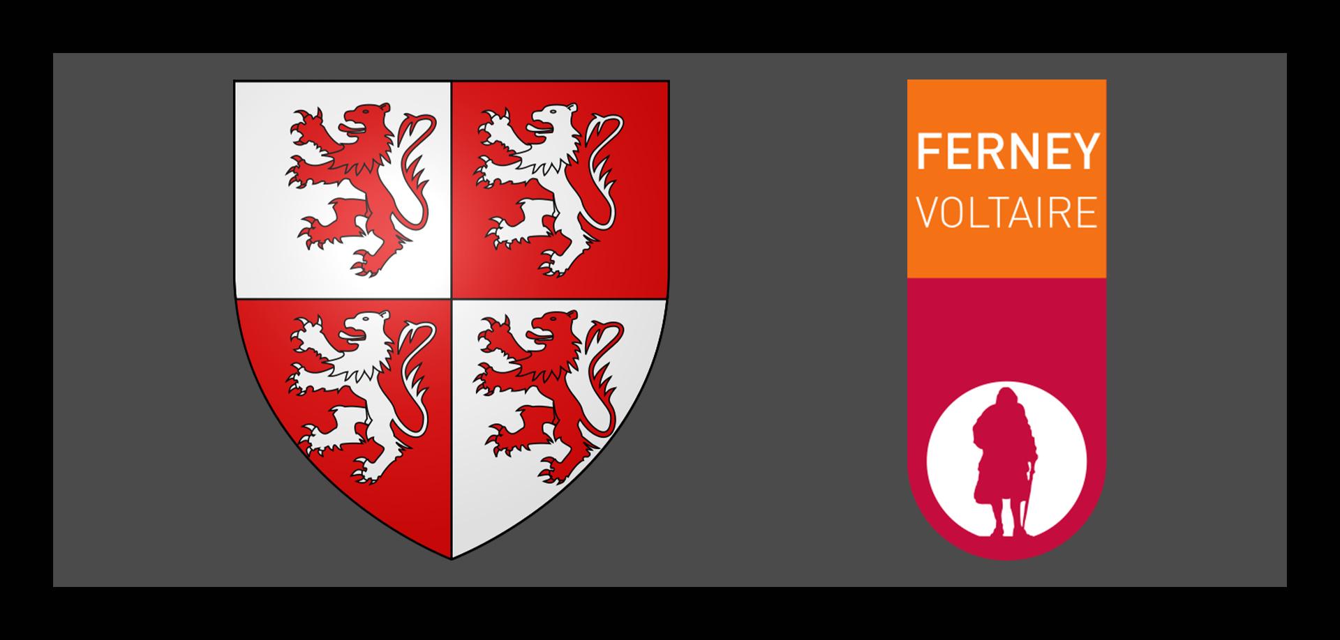 Ferney-Voltaire - Blason et Logo de la ville d'purb dpurb site web