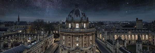 Oxford Radcliffe Square at night by Y_Song2