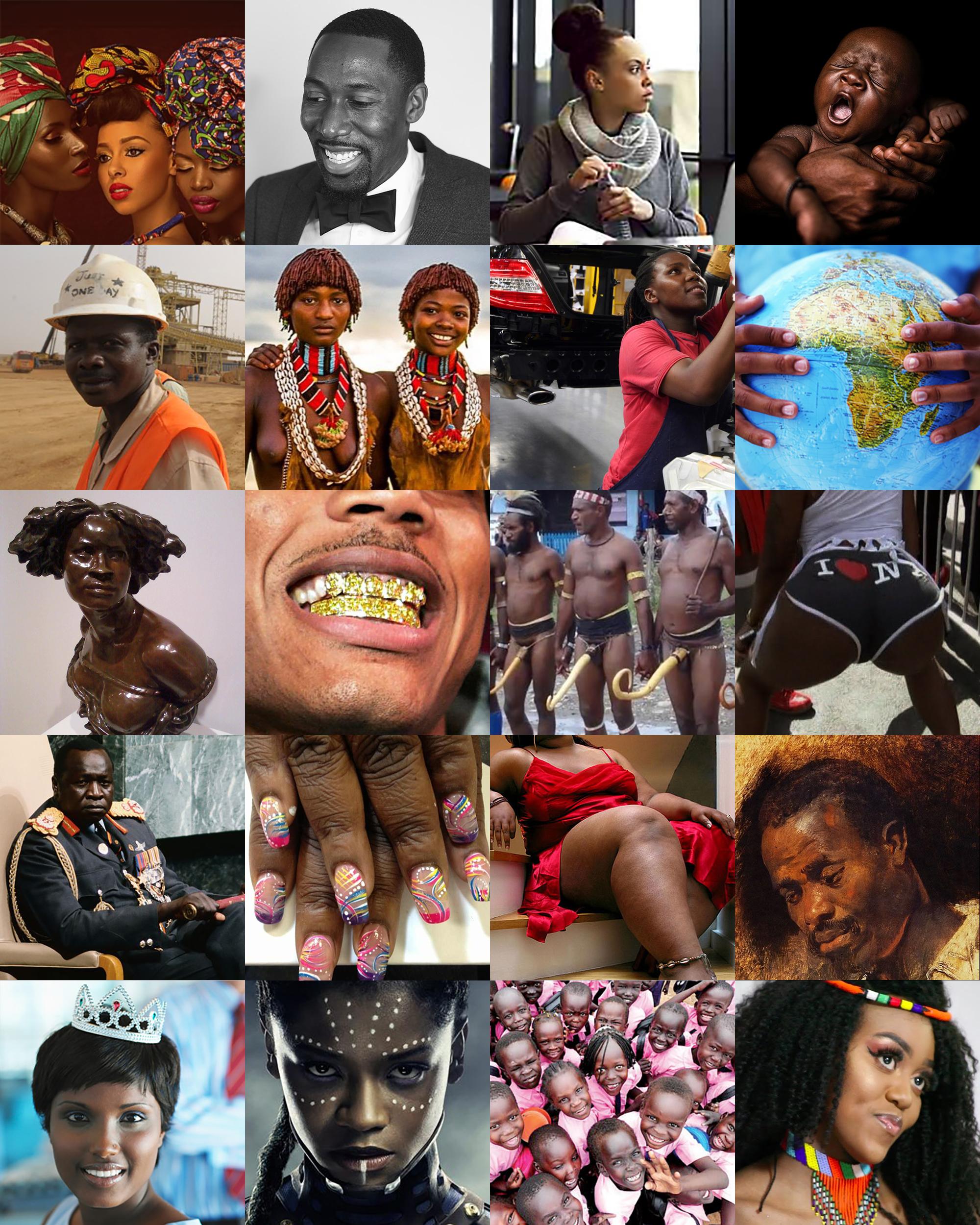 Africa Unite - Negro People