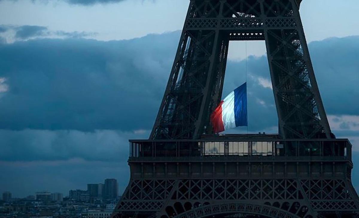 Drapeau Français Tour Eiffel