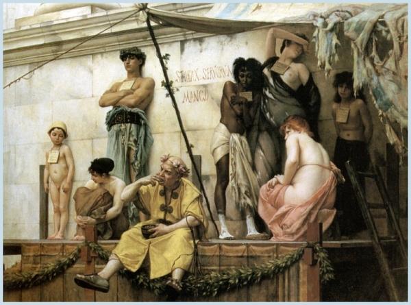 Le Marché aux esclaves - Gustave Boulanger - 1882