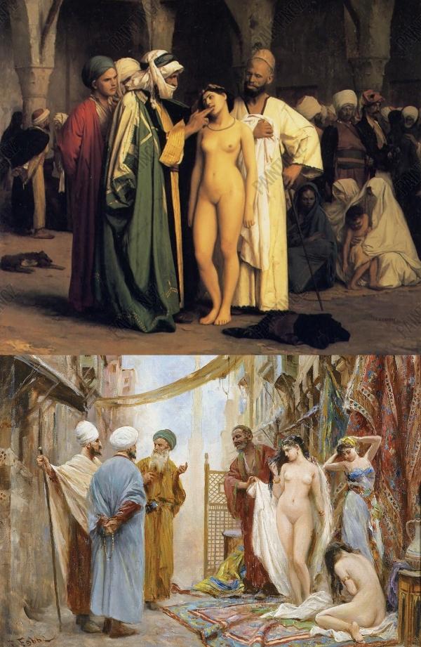 Marché aux Esclaves Fabbi & Gerome Middle-East Moyen-Orient Islam.jpg