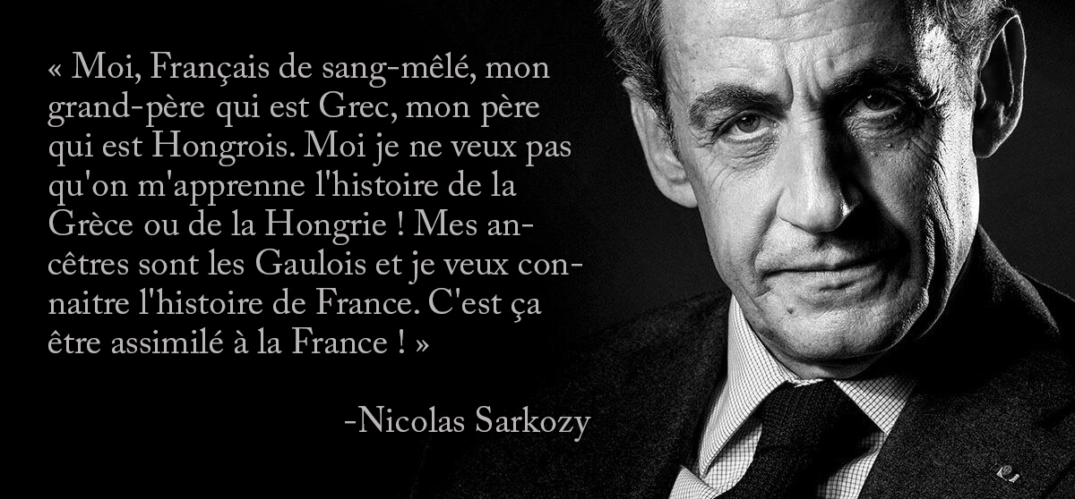 Nicolas Sarkozy - Moi Français de sang-mêlé dpurb