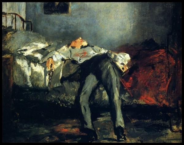 Edouard Manet - Le Suicide