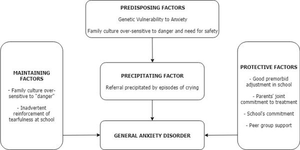 General Anxiety Disorder Formulation