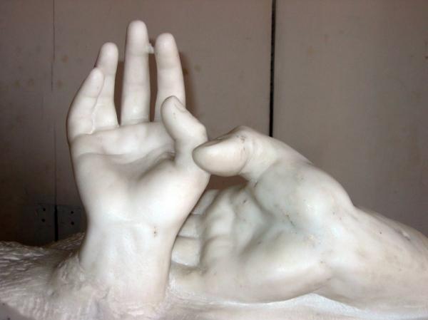 Rodin - Hands (Musee Rodin, Paris)