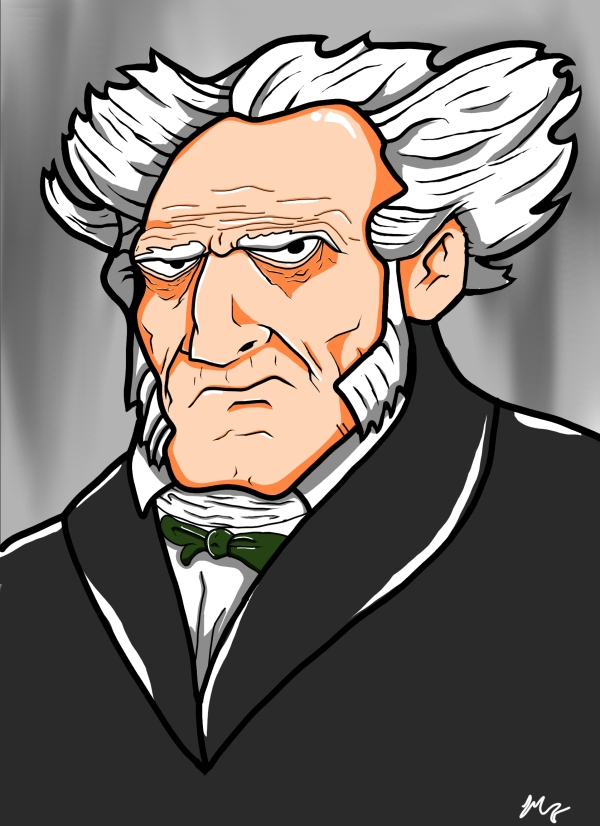Schopenhauer by Mitch Francis