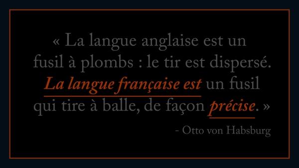 Anglais VS Français Habsburg d'purb dpurb site web