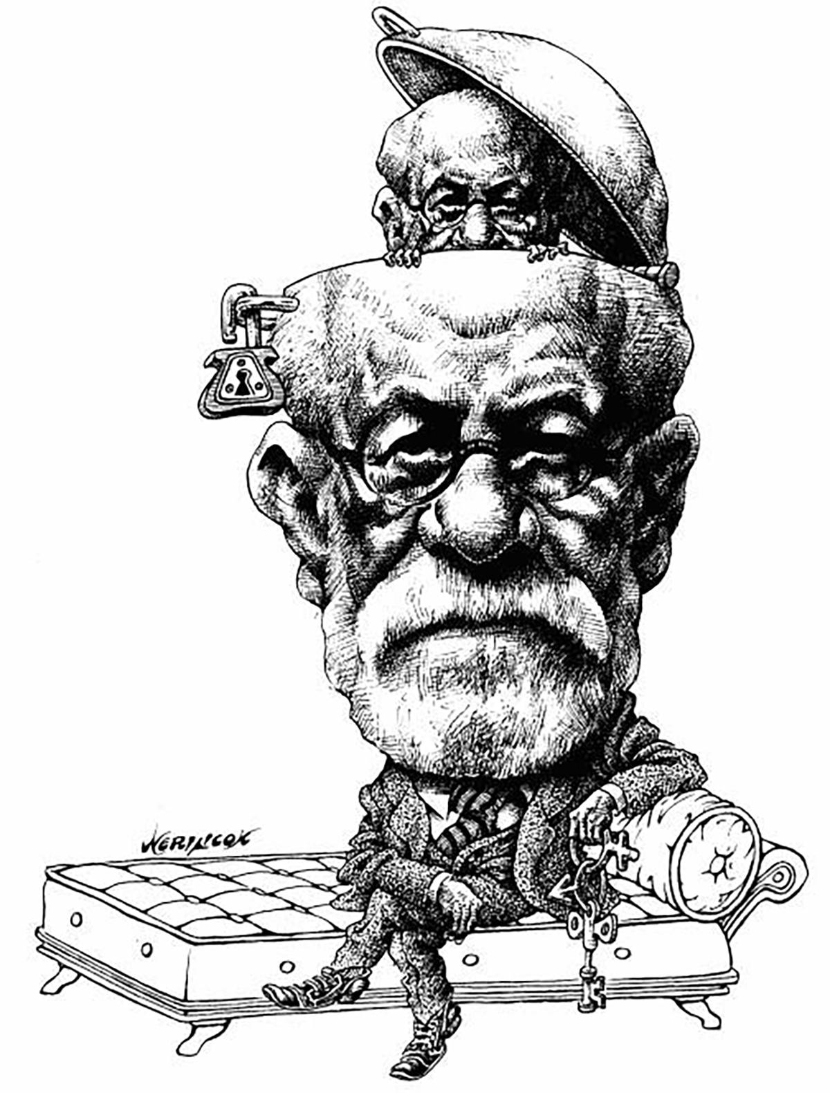 Freud Dessin