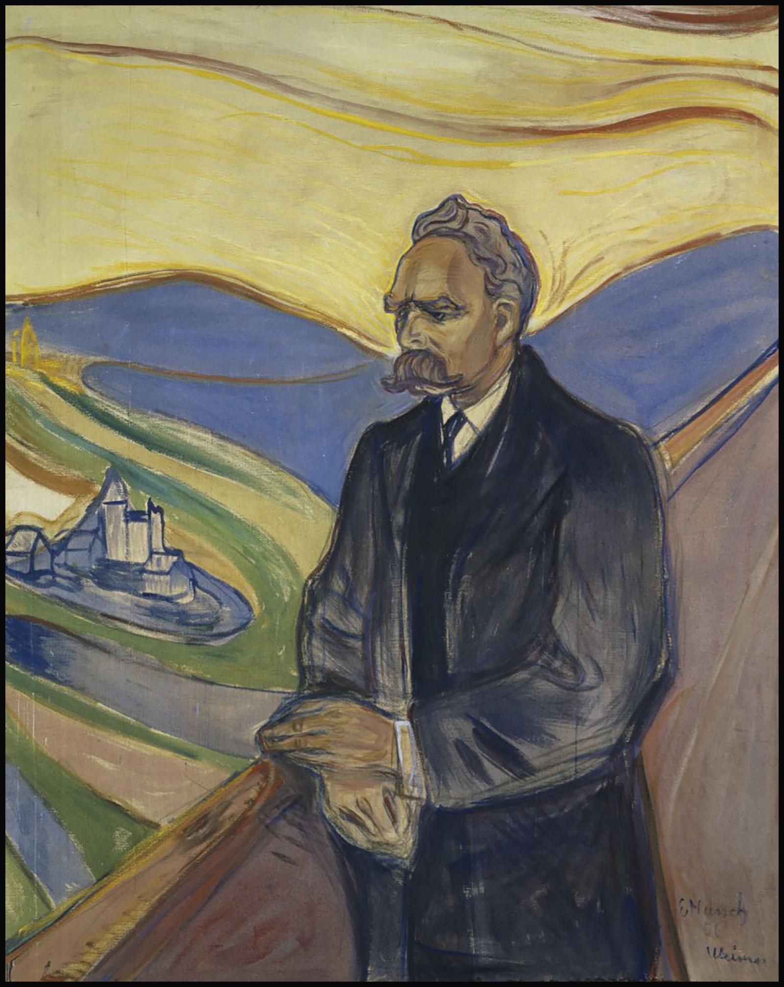 Friederich_Nietzsche par Edvard Munch,1906