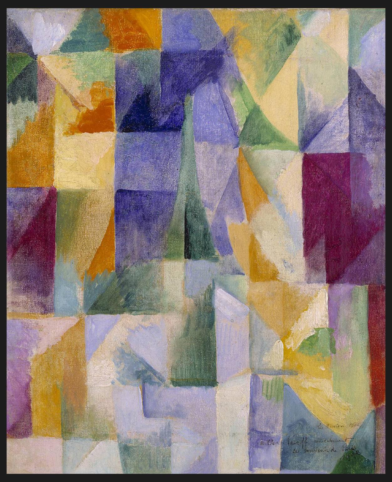Les Fenêtres [Windows] par Robert_Delaunay (1912)