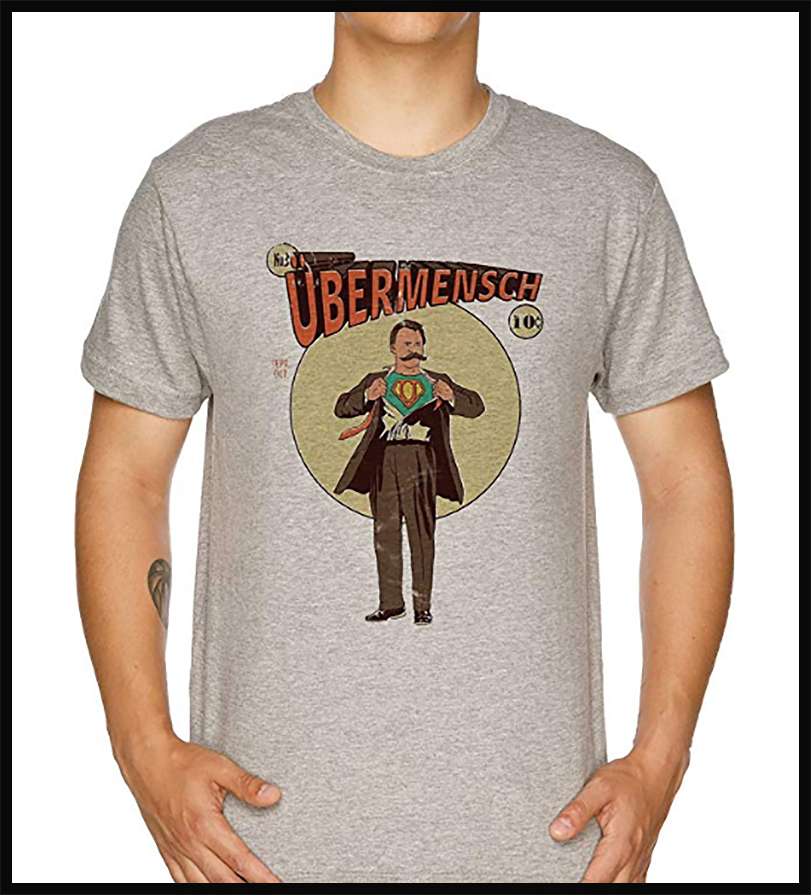 Ubermensch Surhomme Superman dpurb site web