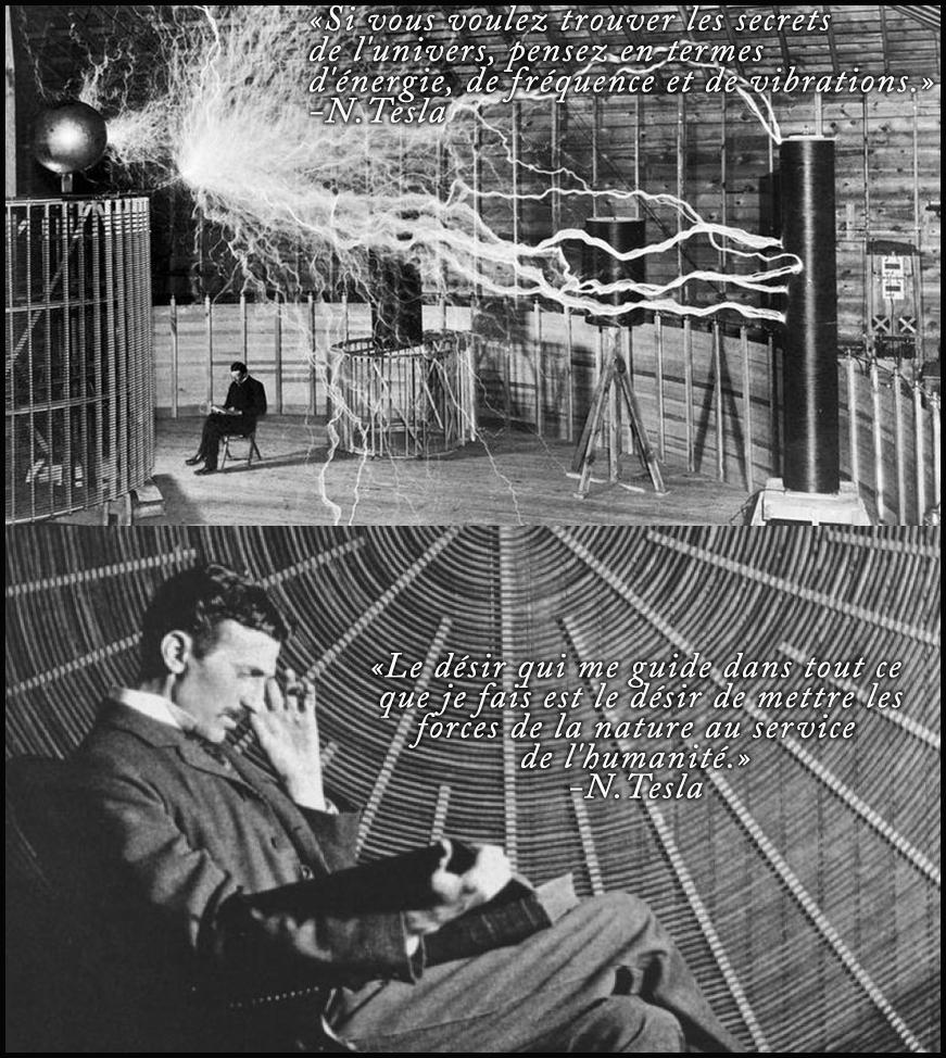 Le desir qui me guide - Tesla
