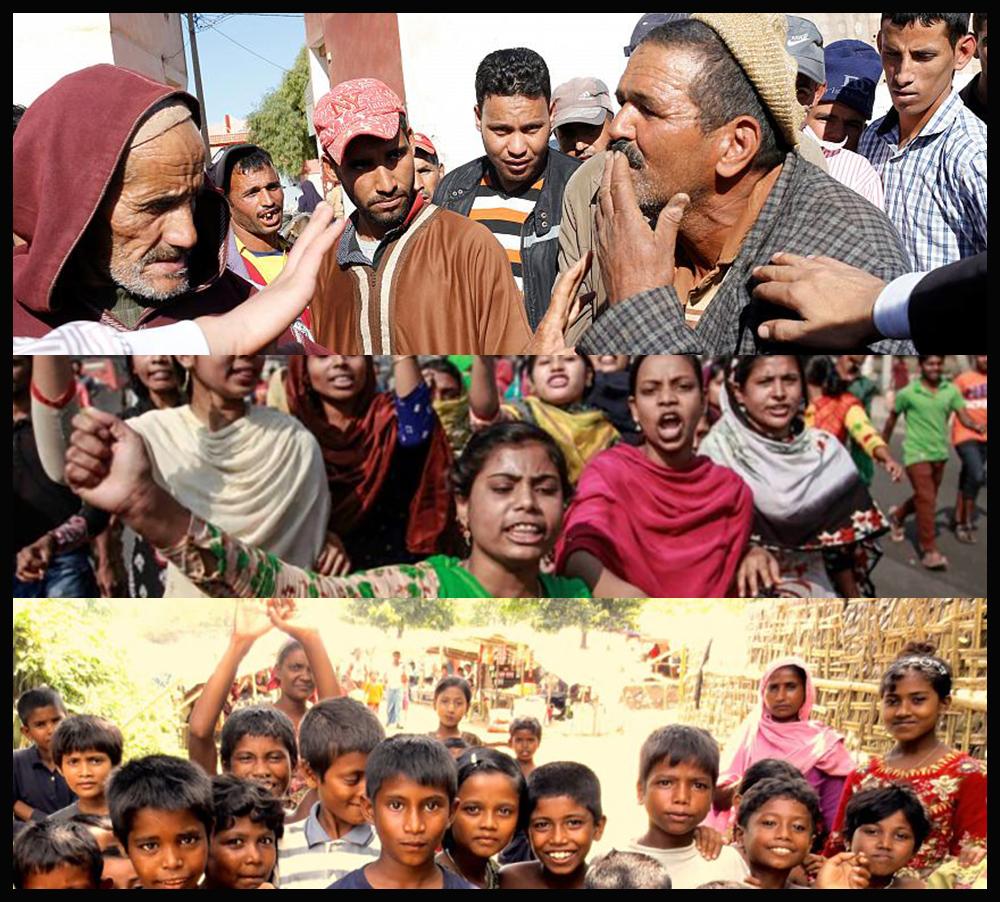 Morocco and Bangladesh