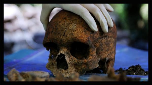 Ossements humains