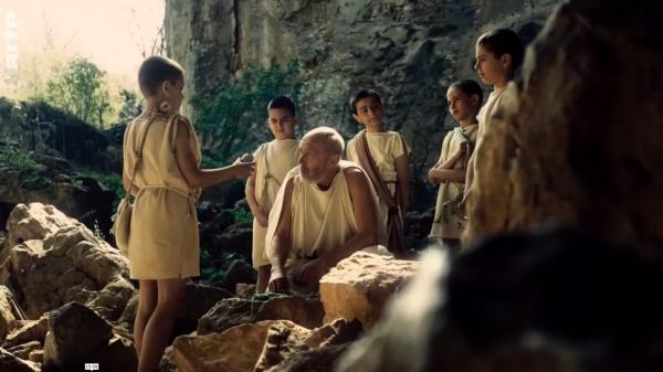 Aristote instruisant Alexandre le Grand et ses camarades