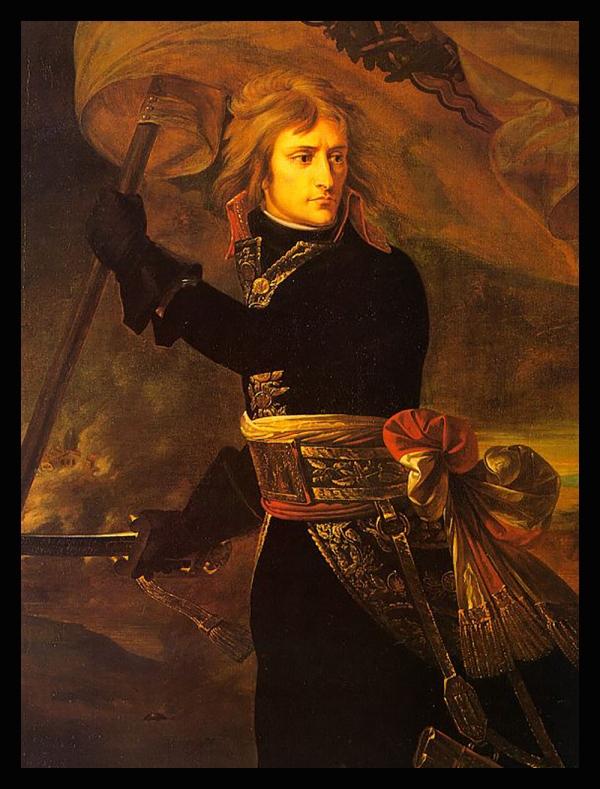 BONAPARTE AU PONT D'ARCOLE (1796) Antoine-Jean GROS (1771 - 1835) dpurb site d'purb