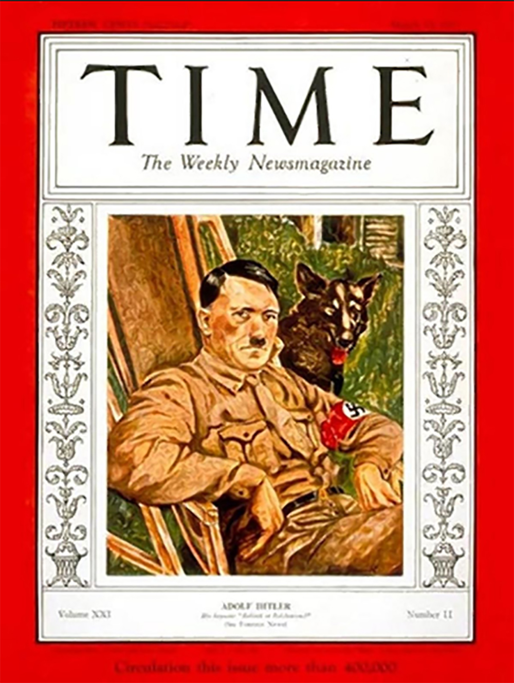 Hitler Person of the Year Time