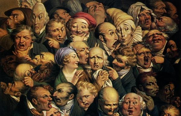 Louis Léopold Boilly, Etude de trente-cinq têtes d'expression, 1825 Danny D'Purb dpurb site web