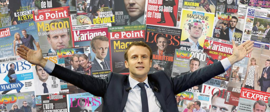 Macron-Le-Président-Bouffon-et-la-Presse