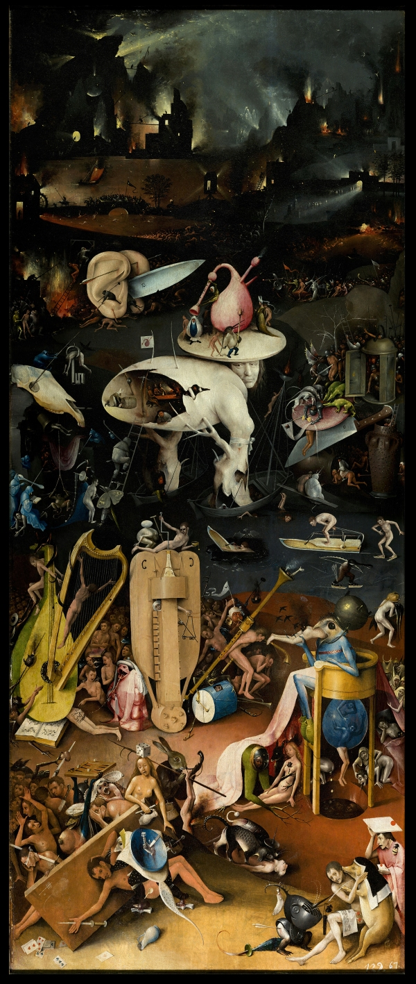 The_Garden_of_earthly_delights (Right Panel -HELL) - Jheronimus Bosch (1494 - 1505) d'purb dpurb site web