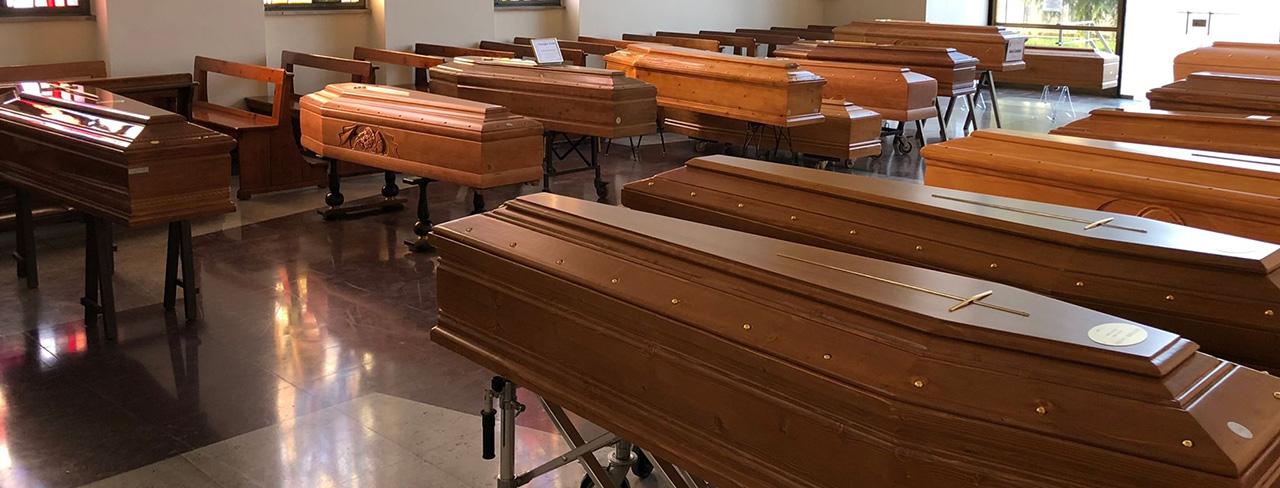 035 Coffins COVID-19 Victims