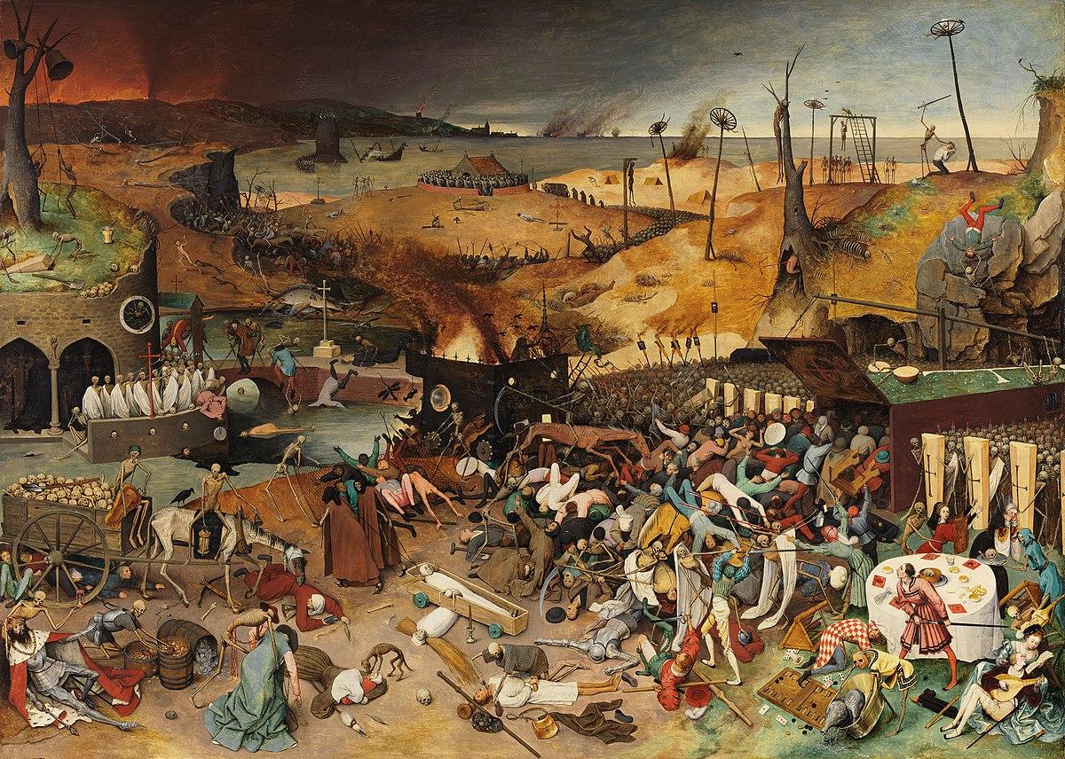 Le Triomphe de la Mort par Pieter Brueghel 1562 d'purb dpurb