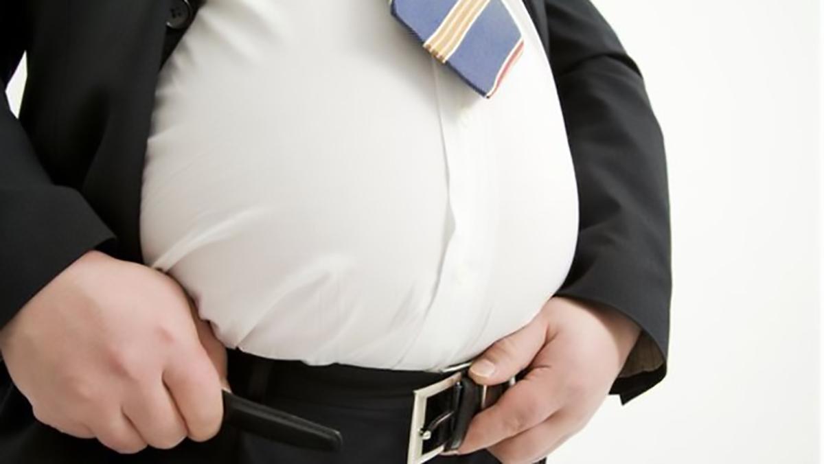 Un gros obesity obésité